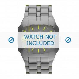 Diesel cinturino dell'orologio DZ1552 Plastica Grigio 21mm