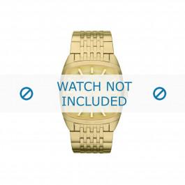 Diesel cinturino dell'orologio DZ1585 Acciaio inossidabile Oro 22mm
