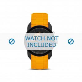 Diesel cinturino dell'orologio DZ1608 Gomma / plastica Arancione 24mm