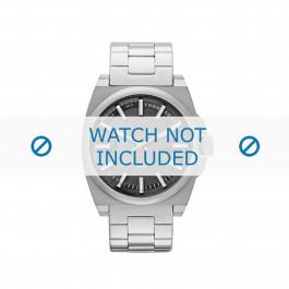 Diesel cinturino dell'orologio DZ1614 Metallo Argento 24mm