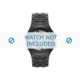 Diesel cinturino dell'orologio DZ1646 Plastica Nero 26mm