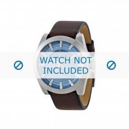 Diesel cinturino dell'orologio DZ1696 Pelle Marrone 20mm