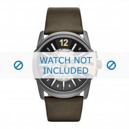 Diesel cinturino dell'orologio DZ1730 Pelle Verde 27mm