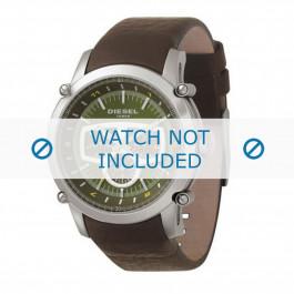 Diesel cinturino dell'orologio DZ4151 Pelle Marrone 24mm