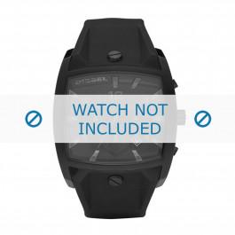 Cinturino per orologio Diesel DZ4196 Silicone Nero 32mm