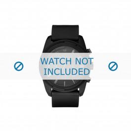Diesel cinturino dell'orologio DZ4211 Silicone Nero 25mm