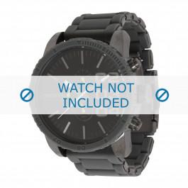 Diesel cinturino dell'orologio DZ4254 Acciaio inossidabile Argento 26mm