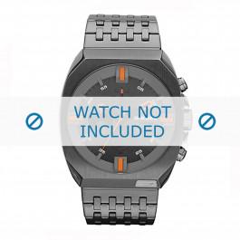 Diesel cinturino dell'orologio DZ4264 Acciaio inossidabile Argento 27mm