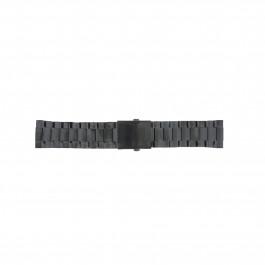 Cinturino per orologio Diesel DZ4318 / DZ4283 / DZ4316 / DZ4355 / DZ4309 / DZ4338 Acciaio Nero 26mm