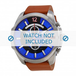 Diesel cinturino dell'orologio DZ4319 Pelle Marrone chiaro 26mm