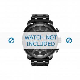 Diesel cinturino dell'orologio DZ4349 Acciaio inossidabile Nero 26mm
