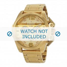 Diesel cinturino dell'orologio DZ4377 Acciaio inossidabile Oro 24mm