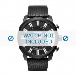 Diesel cinturino dell'orologio DZ4382 Pelle Nero 26mm