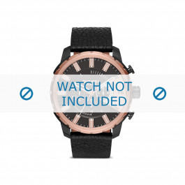 Diesel cinturino dell'orologio DZ4390 Pelle Nero 26mm