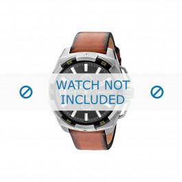 Cinturino per orologio Diesel DZ4393 Pelle Marrone 24mm