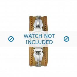 Diesel cinturino dell'orologio DZ5047 Pelle Marrone 26mm + cuciture marrone