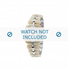 Diesel cinturino dell'orologio DZ5080 Acciaio inossidabile Beige 20mm