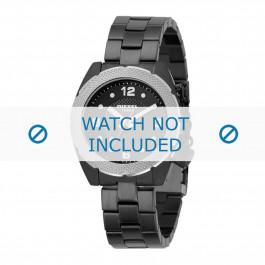 Diesel cinturino dell'orologio DZ5117 Acciaio inossidabile Nero 18mm