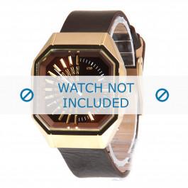 Diesel cinturino dell'orologio DZ5151 Pelle Marrone 18mm