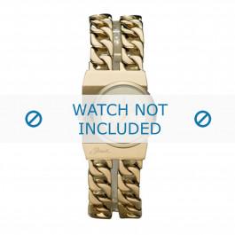 Diesel cinturino dell'orologio DZ5248 Acciaio inossidabile Oro 21mm