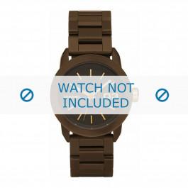 Diesel cinturino dell'orologio DZ5261 Acciaio inossidabile Marrone 20mm