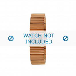Diesel cinturino dell'orologio DZ5268 Acciaio inossidabile Salito 20mm