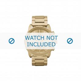 Diesel cinturino dell'orologio DZ5302 Metallo Oro 22mm