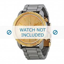 Diesel cinturino dell'orologio DZ5303 Metallo Argento 22mm