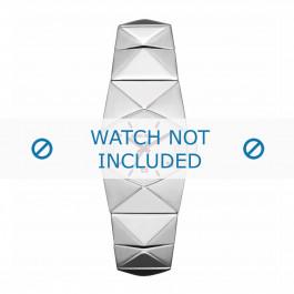 Diesel cinturino dell'orologio DZ5326 Acciaio inossidabile Argento 19mm