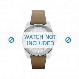 Cinturino per orologio Diesel DZ5343 Pelle Beige 22mm