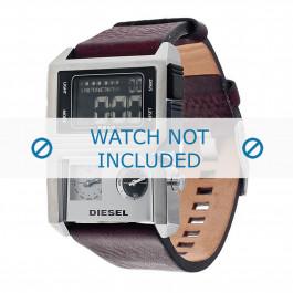 Diesel cinturino dell'orologio DZ7174 Pelle Marrone 28mm