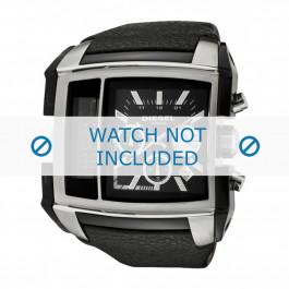 Diesel cinturino dell'orologio DZ7191 Pelle Nero 30mm