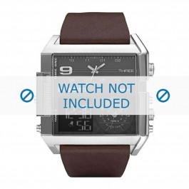 Cinturino per orologio Diesel DZ7209 Pelle Marrone 34mm
