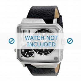 Diesel cinturino dell'orologio DZ7242 Pelle Nero 28mm