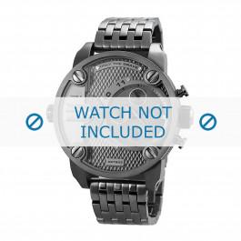 Cinturino per orologio Diesel DZ7263 Acciaio Grigio antracite 24mm