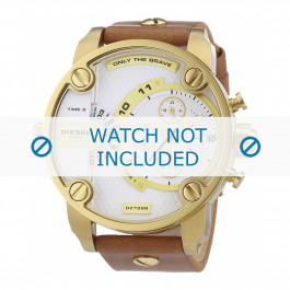 Cinturino per orologio Diesel DZ7288 Pelle Cognac 24mm