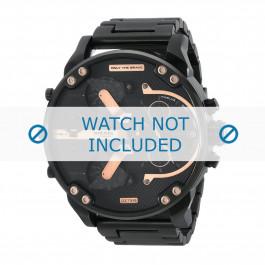 Cinturino per orologio Diesel DZ7312 Acciaio Nero 28mm
