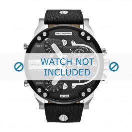 Cinturino per orologio Diesel DZ7313 Pelle Nero 28mm