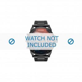Cinturino per orologio Diesel DZ7395 Acciaio Nero 28mm