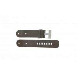Diesel cinturino dell'orologio DZ9004 Pelle Nero 36mm