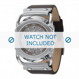Cinturino per orologio Diesel DZ9027 Pelle Marrone 27mm