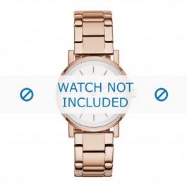 DKNY cinturino dell'orologio NY2344 Metallo Salito 18mm
