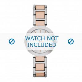 DKNY cinturino dell'orologio NY2402 Metallo Salito