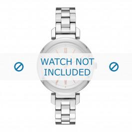 DKNY cinturino dell'orologio NY2582 Metallo Argento