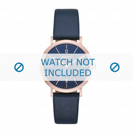 DKNY cinturino dell'orologio NY2614 Pelle Blu