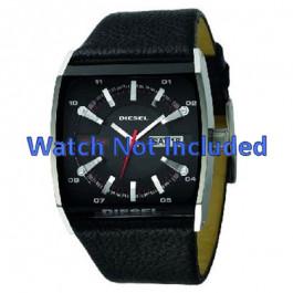 Cinturino per orologio Diesel DZ1253 Pelle Nero 34mm