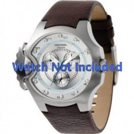 Cinturino per orologio Diesel DZ4132 Pelle Marrone 17mm