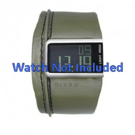 Cinturino per orologio Diesel DZ7053 Pelle Verde 28mm
