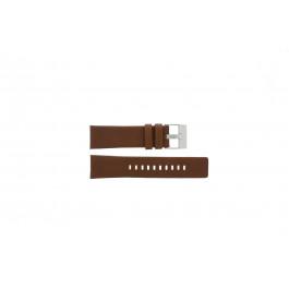 Cinturino per orologio Diesel DZ4296 Pelle Cognac 24mm