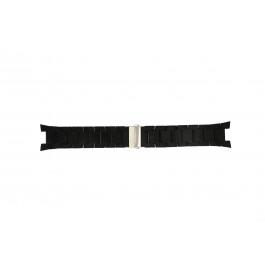 Cinturino per orologio Fossil ES2519 Gomma Nero